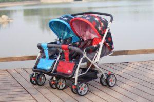 kereta bayi kembar