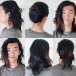 model rambut gondrong keren bergaya terbaru 2018
