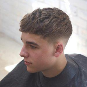 model rambut pria - fade