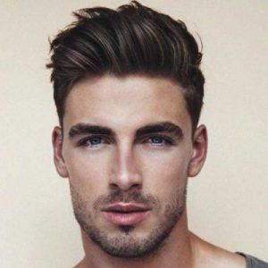 model rambut pria ganteng