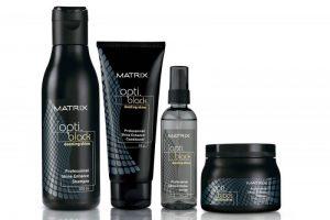 Matrix Opti Black Dazzling Shine Hair Serum
