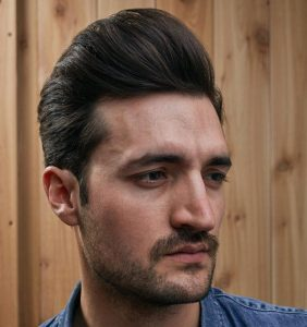 men hairstlyle pompadour