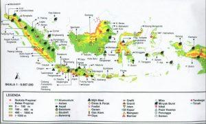 Peta Hasil Tambang Indonesia Lengkap