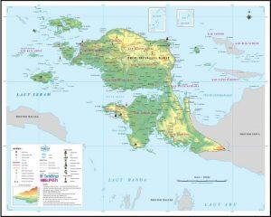 Peta Papua Barat Irian