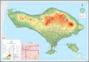 peta bali indonesia