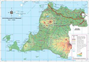 peta banten lengkap