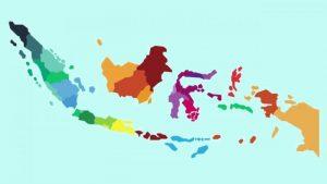 peta indonesia gambar vektor
