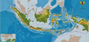 peta indonesia lengkap versi terbaru