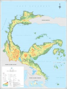 peta indonesia sulawesi tengah
