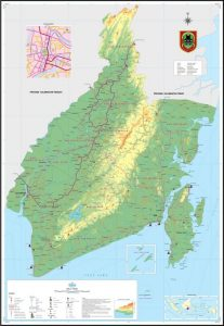 peta kalimantan selatan