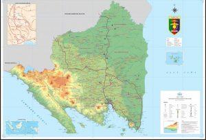peta lampung indonesia