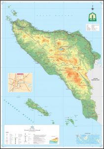 peta prov aceh Indonesia lengkap