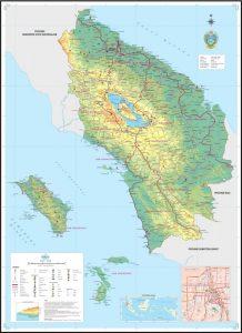 peta provinsi sumatera utara
