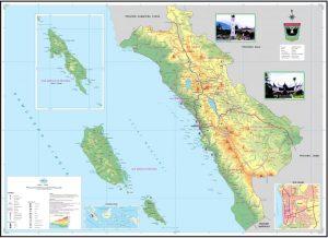 peta sumatera barat Indonesia