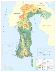 sulawesi selatan peta