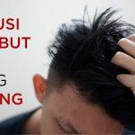 cara mengatasi rambut kering pria dan wanita