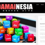 website blog damainesia