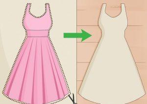 cara menjahit baju maxi gaun