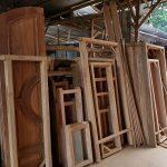 harga pintu kayu kusen terbaru