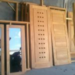 harga pintu kayu kusen