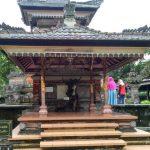 Bangunan aling aling rumah adat bali indonesia