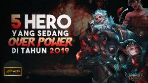 hero mobile legend tersakit terkeren 2019 2020
