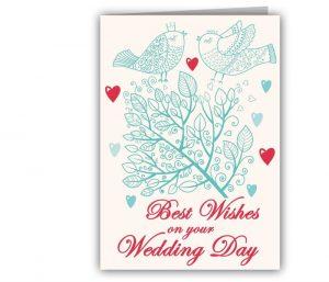 kartu ucapan pernikahan