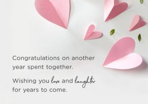 ucapan selamat ulang tahun pernikahan bahasa inggris