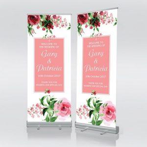 banner selamat datang pernikahan