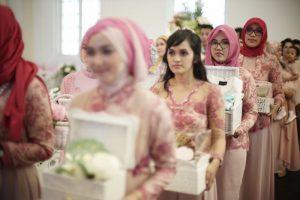 prosesi hantaran pernikahan