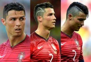 gaya rambut ukiran skin cristiano ronaldo cr7